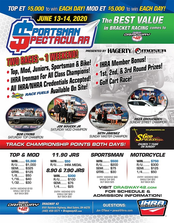 2020 updated dragway 42 SS 4-24-2020