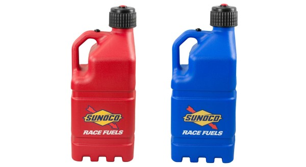 Sunoco Race Jugs Work for the IHRA Racer