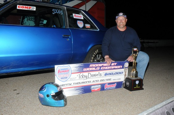 Local Competition Helped Prepare Daniels for Mod Championship