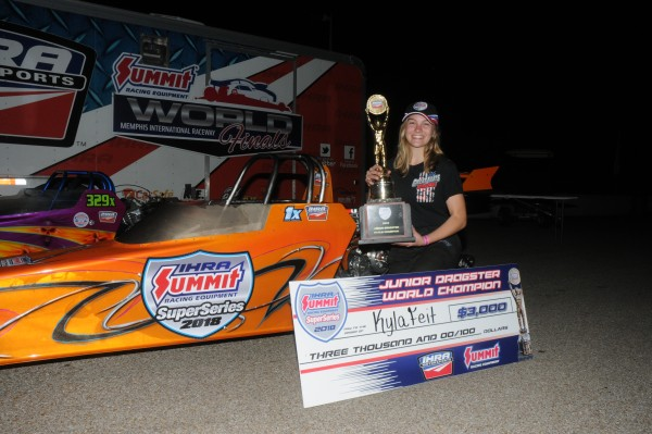 Reaction Times Help Feit Claim IHRA Junior Dragster Championship