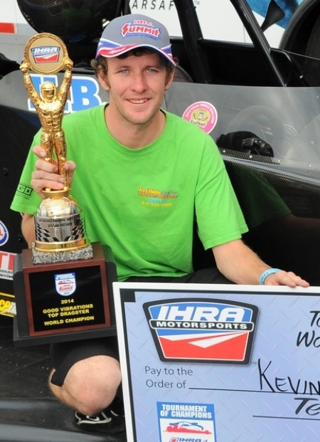 2014 IHRA Top Dragster Champion – Kevin Brannon
