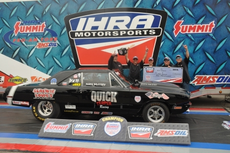 IHRA wraps up 2014 season with crowning of champions at IHRA Summit Racing Equipment World Finals