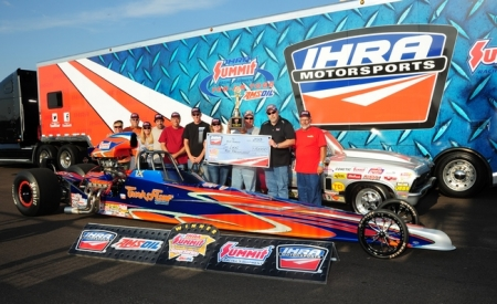 2013 IHRA Top ET Champion - Tim Lucas
