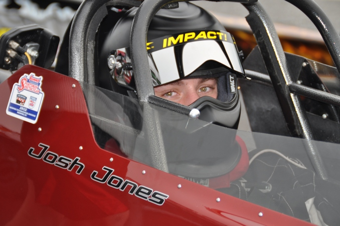 Junior Dragster racer Josh Jones is focused on bringing home a championship