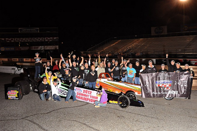 Memphis International Raceway won the team competition at the D2 West Team Finals